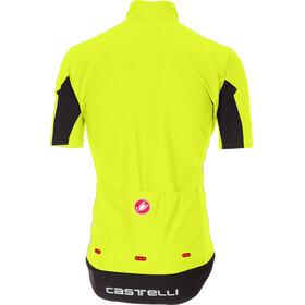 Castelli Gabba 3 Short Sleeve Jersey Men yellow fluo
